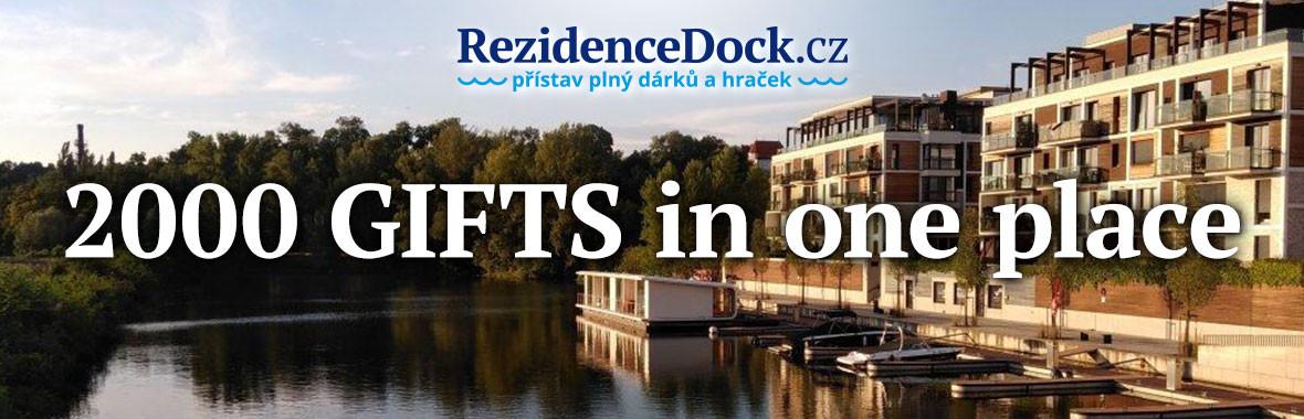 Rezidencedock.cz - Přístav plný dárků a hraček